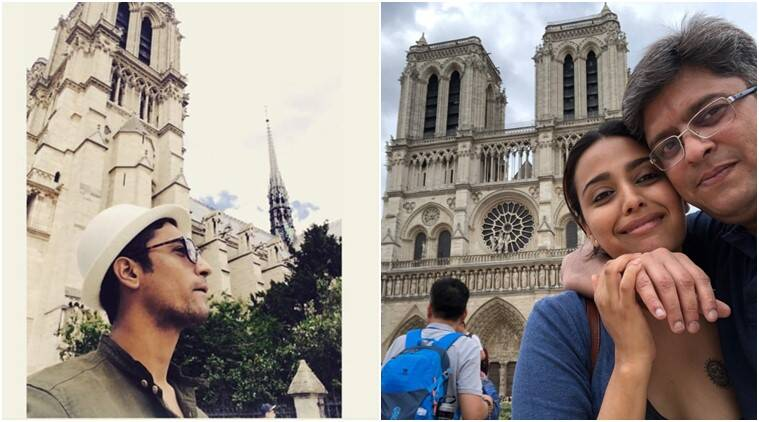 notre dame cathedral celebrities react