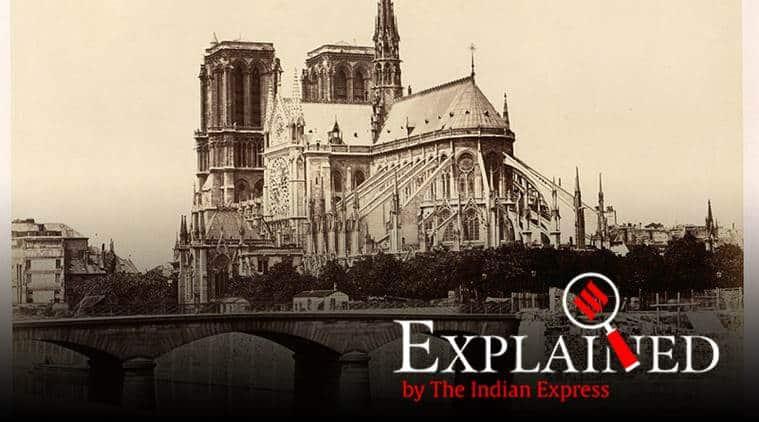 Notre Dame, Notre Dame Paris, Notre Dame fire, Paris, France, fire in Notre Dame, what is Notre Dame, Notre Dame news, paris news, France news, world news, Indian Express