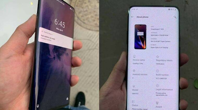 OnePlus 7, OnePlus 7 price in India, OnePlus 7 launch in India, OnePlus 7 specifications, OnePlus 7 features, OnePlus 7 leaked images, Oneplus 7 pro, OnePlus 7 5G