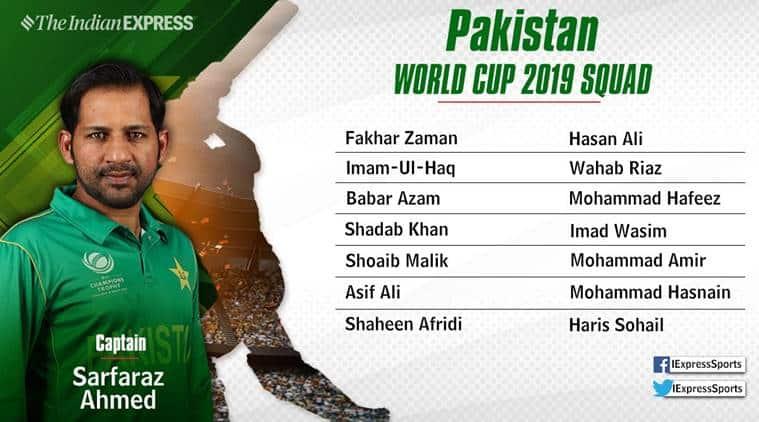 sarfraz ahmed will lead pakistan in icc world cup 2019