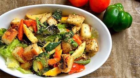 panzanella salad, panzanella recipe, food, indian express