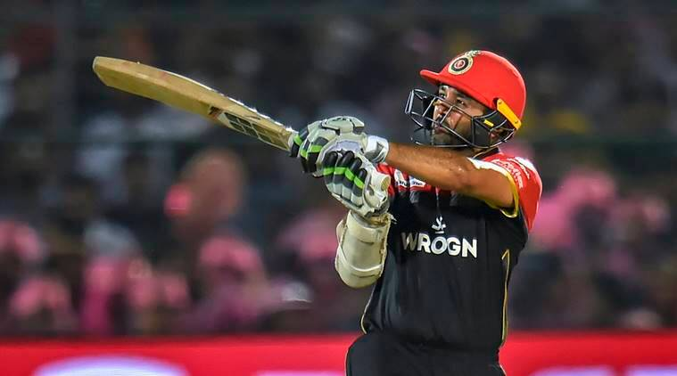 Royal Challengers Bangalore (RCB) batsman Parthiv Patel play a shot during the Indian Premier League (IPL T20 2019) cricket match between Royal Challengers Bangalore (RCB) and Rajasthan Royals (RR) at Sawai Man Singh stadium in Jaipur