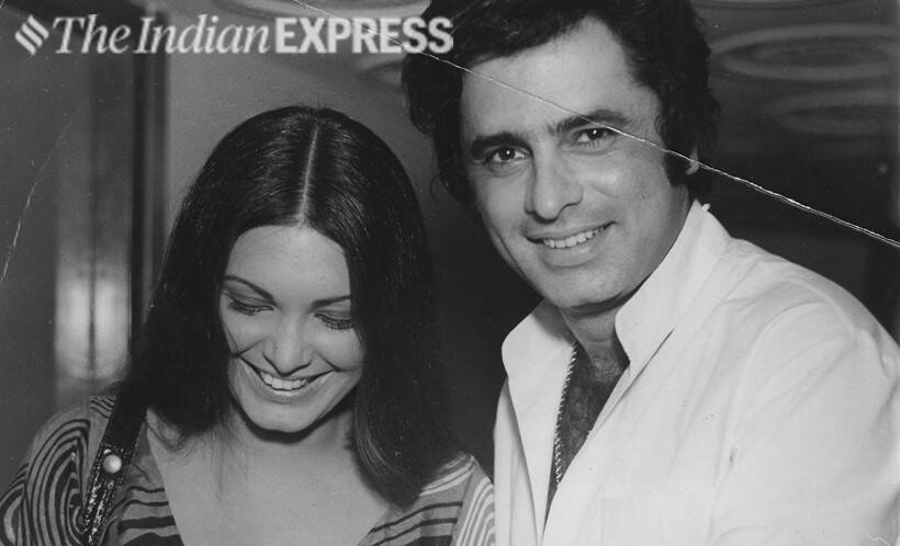 Parveen Babi and Sanjay Khan