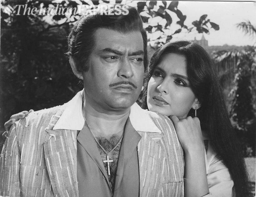 Sanjeev Kumar and Parveen Babi