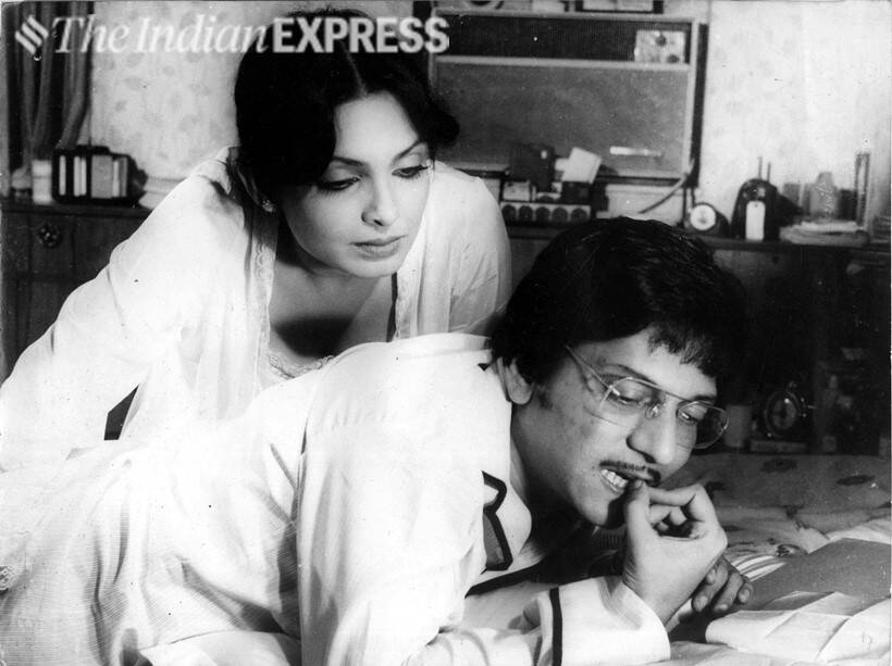 Parveen Babi and Amol Palekar