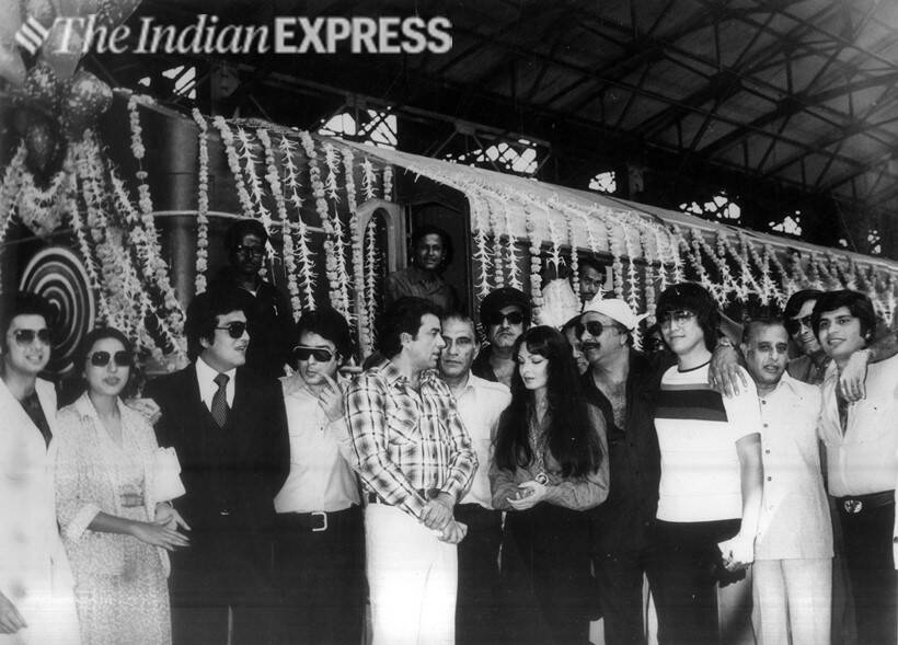 the burning train film parveen babi