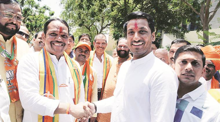Buoyed by supporters and rallies, NCP, Sena leaders file