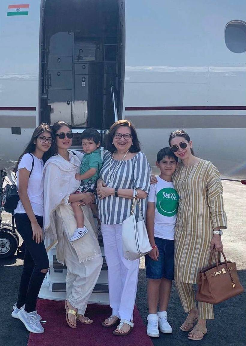 taimur, kareena babita birthday celebration