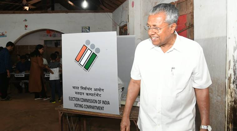 Kerala Lok Sabha elections, pinarayi vijayan, shashi tharoor, kerala voting, Kerala Lok Sabha elections 2019, kerala elections 2019, kerala election news, kerala elections live, lok sabha election, lok sabha election 2019, election 2019, election 2019, election 2019 news, election live