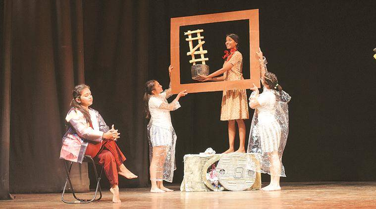 #Coverage Chalu Hai, abhivyakti, play, campus performance, Maitreyi College, theatre, art & culture, indian express