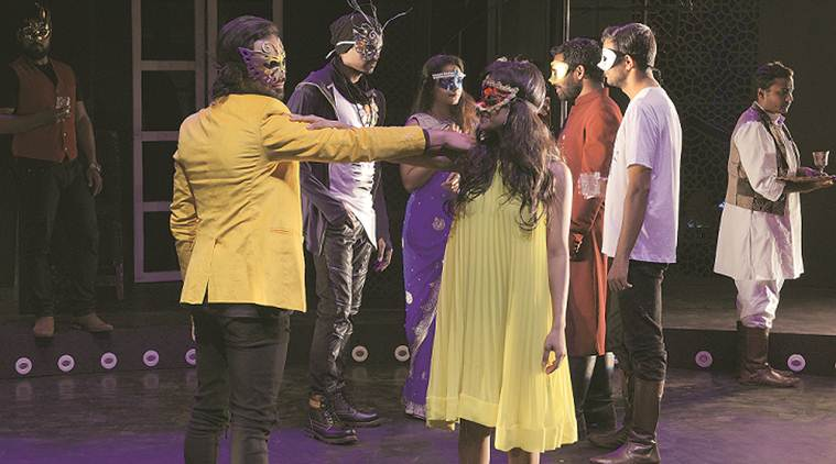 play, theatre, romeo juliet, shakespeare, adaptation of shakespearean tale, daqnish iqbal, art and culture, indian express