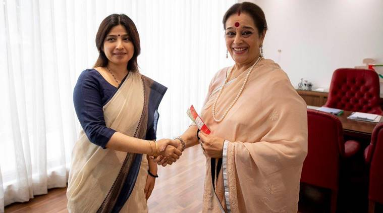 Shatrughan Sinha's wife Poonam joins SP