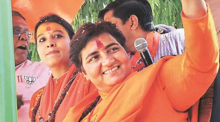Pragya Thakur blames Oppn's 'marak shakti' for deaths of Sushma, Jaitley