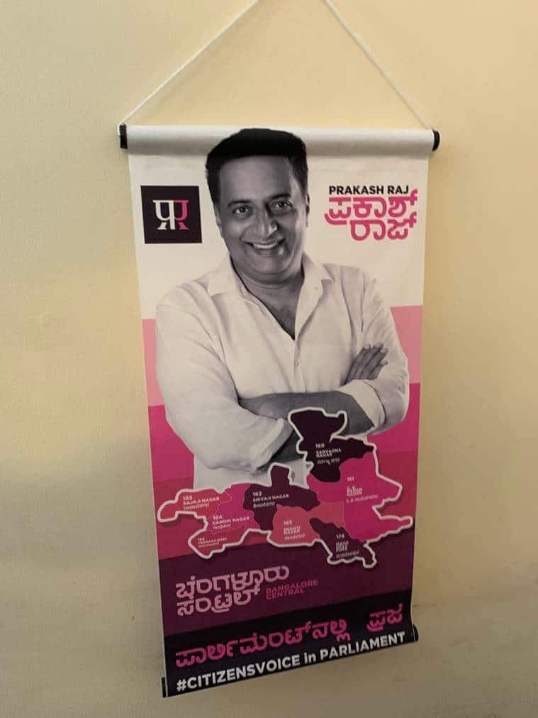 prakash raj interview, lok sabha elections, prakash raj bangalore central, bangalore news