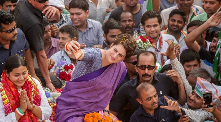 'If you're a nationalist then why didn't you fulfil your promises': Priyanka targets PM Modi in Ghaziabad