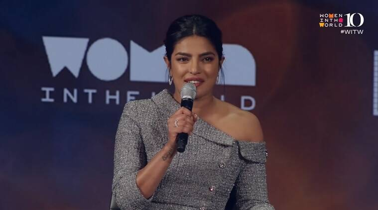 priyanka chopra women in the world summit