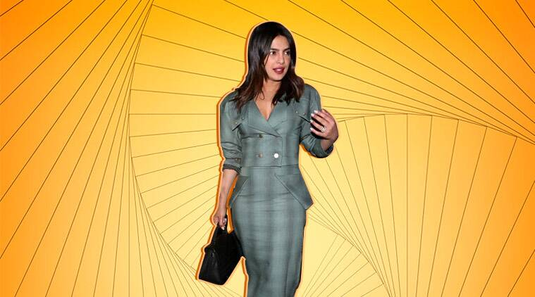 Priyanka Chopra Jonas turns head in this grey outfit