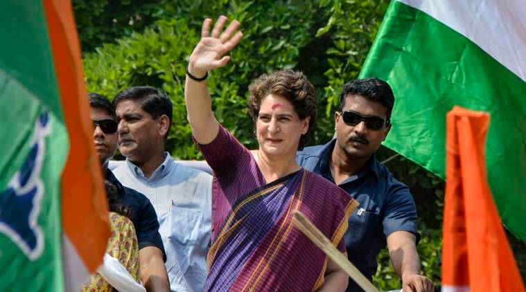 priyanka gandhi, congress, up congress, priyanka gandhi up, congress party workers, indian express
