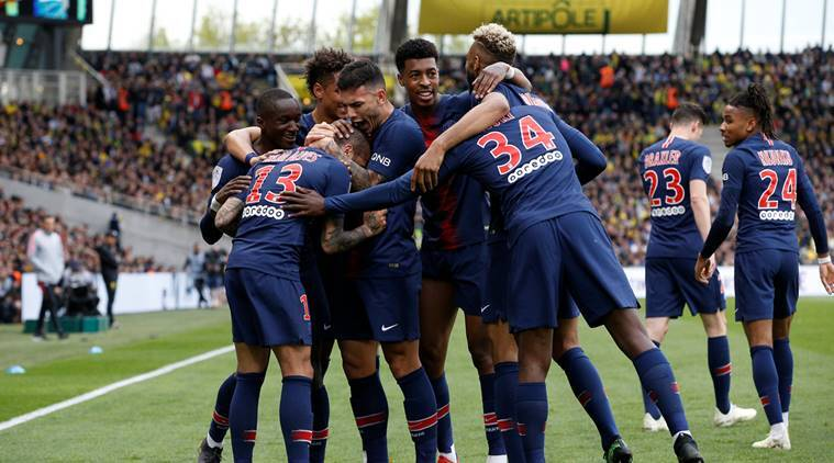 Psg Celebrate Eighth Title As Neymar Gets Back In Action