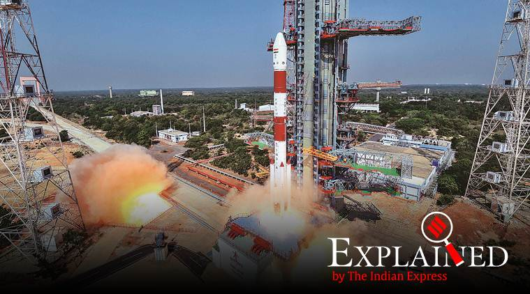 PSLV-C45, ISRO PSLV-C45, ISRO PSLV rocket launch, ISRO satellite rocket launch, ISRO PSLV rockets India, India PSLV rockets, PSLV-C45 rocket India, PSLV rocket features, express explained, indian express, latest news