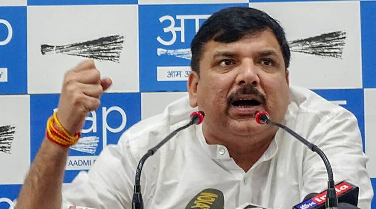 As Sanjay Singh rejects alliance, Cong says it was AAP idea to begin with
