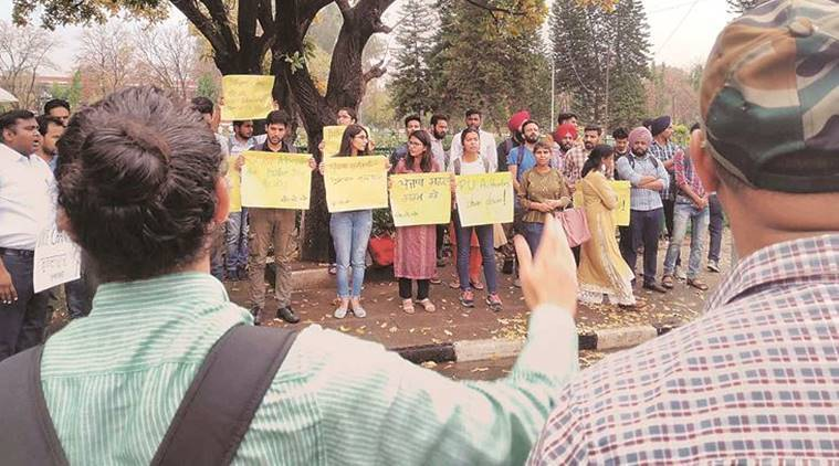 Protest erupts at PU over SC/ST students' degrees 'being withheld'; rumour, says DSW