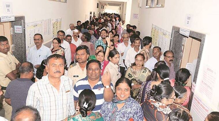 Repeat of 2014: Maval, Shirur see 59.5 per cent turnout in Pune