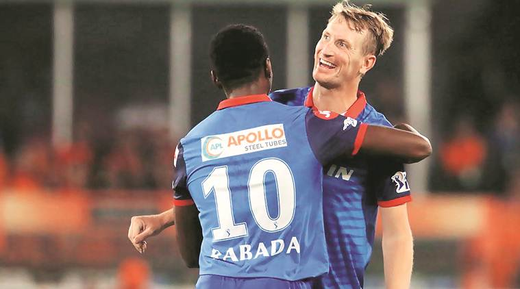 ipl 2019, srh vs dc, srh vs dc result, rabada, keemo paul, delhi capitals, cricket, indian express news