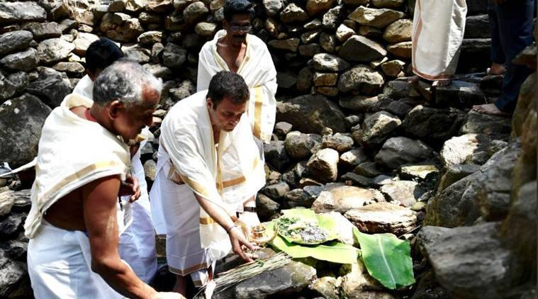 What makes Rahul Gandhi's visit to Thirunelli temple special