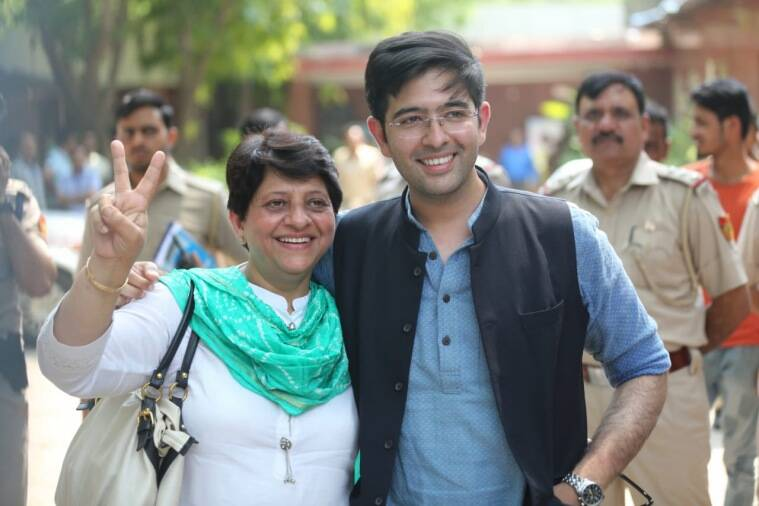 Image result for aam aadmi party raghav chadha