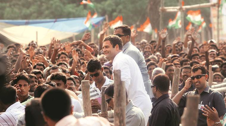 rahul gandhi, rahul gandhi in malda, rahul gandhi in west bengal, congress in bengal, rahul gandhi rally, Rahul gandhi Wayanad, lok sabha elections 2019, lok sabha polls, general elections 2019, election news, indian express
