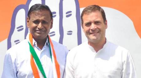 udit raj, udit raj joins congress, udit raj denied bjp ticket, udit raj quits bjp, bjp mp udit raj
