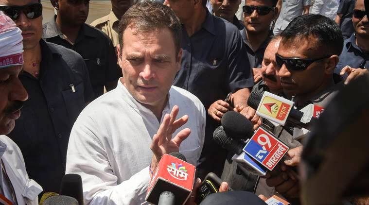 Congress alleges laser light aimed at Rahul Gandhi in Amethi, Centre denies charges