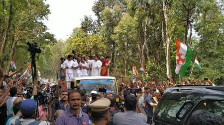 Lok Sabha elections 2019: Rahul Gandhi files nomination from Wayanad, holds road show
