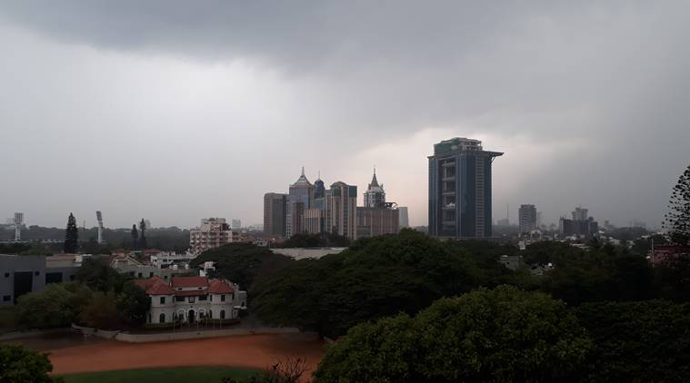 Moderate rainfall expected in Bangalore this weekend