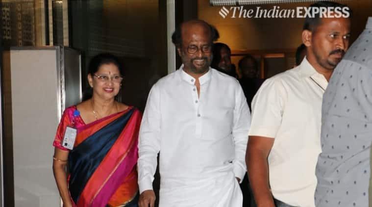Rajinikanth arrives in Mumbai for Darbar shoot | Entertainment News