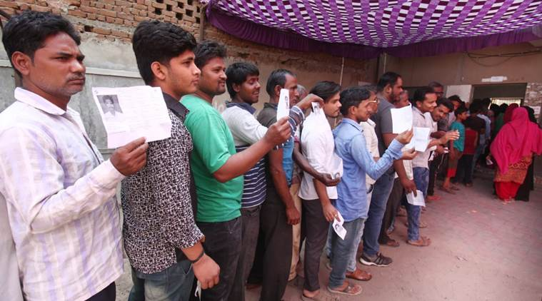 gujarat lok sabha elections live updates, gujarat elections live updates, gujarat elections voter turnout, Gujarat assembly elections, Lok sabha elections, Narendra Modi, Modi vote, decision 2019, elections LIVE updates, indian express