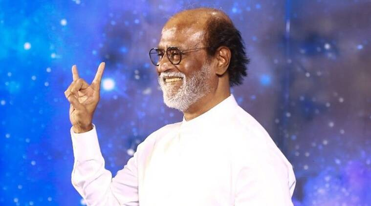 Rajinikanth, Rajinikanth on BJP, Rajinikanth on saffronisation, Rajinikanth saffronisation, Rajinikanth on joining BJP, Rajinikanth contesting elections, Indian Express