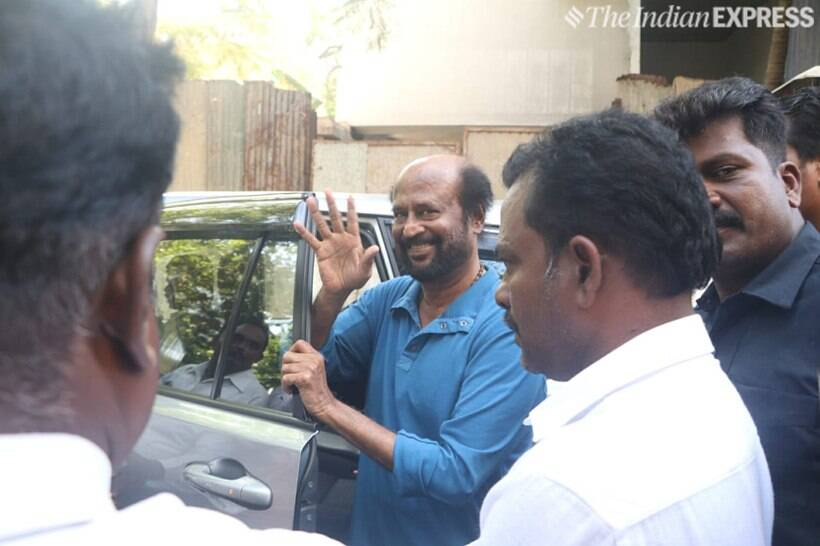 Rajinikanth shooting for Darbar