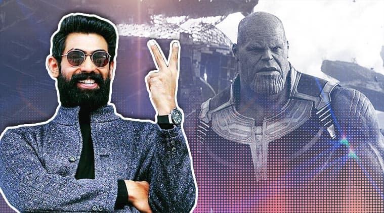 Rana Daggubati has dubbed for Thanos in Avengers Endgame