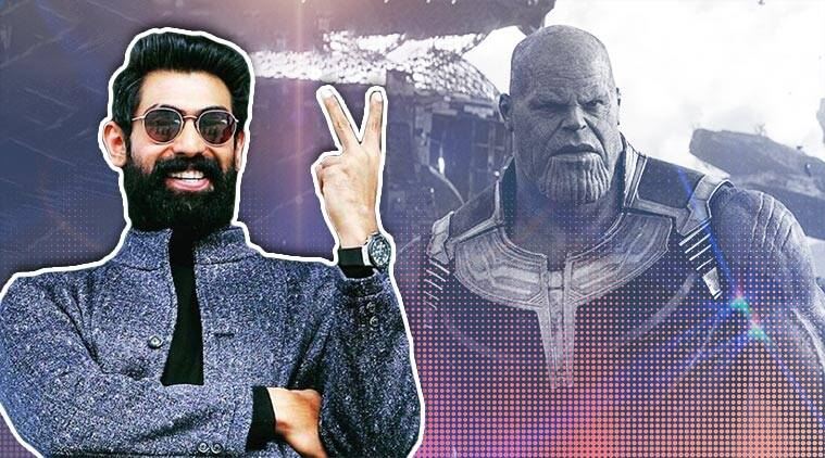 Rana Daggubati has dubbed for Thanos in Avengers Endgame