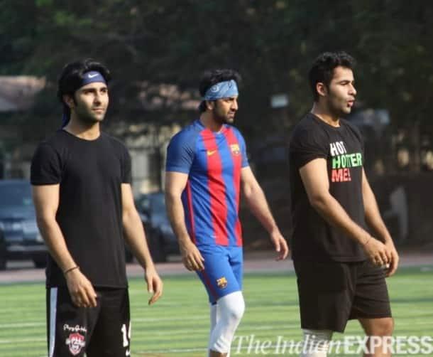 Ranbir Kapoor,Aadar, Armaan Jain