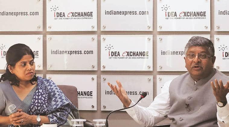 ravi shankar prasad, ravi shankar prasad interview, ravi shankar prasad idea exchange, ravi shankar prasad on lok sabha polls, ravi shankar prasad on bjp win, bjp chances in 2019 elections, 2019 lok sabha elections, lok sabha elections, election news, indian express