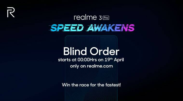realme 3 pro, realme, realme 3 pro blind order sale, blind order sale, realme 3 pro pre orders, realme 3 pro camera, realme 3 pro first sale, realme 3 pro first sale, realme 3 pro blind pre orders, realme 3 pro first sale date, realme 3 pro launch, realme 3 pro features, realme 3 pro specifications