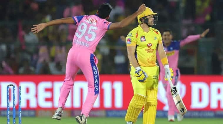 IPL 2019, RR vs CSK Live Cricket Score: Rajasthan Royals host Chennai Super Kings. (Source: IPL)