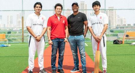 sachin tendulkar play gully cricket