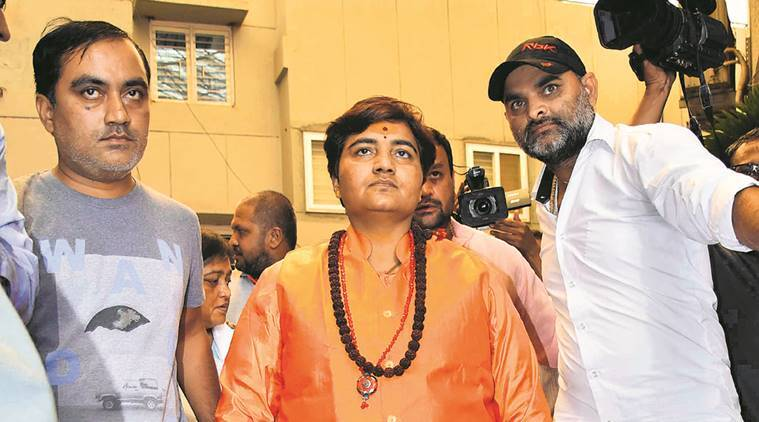 Opposition using 'marak shakti' to harm BJP leaders, says Sadhvi Pragya