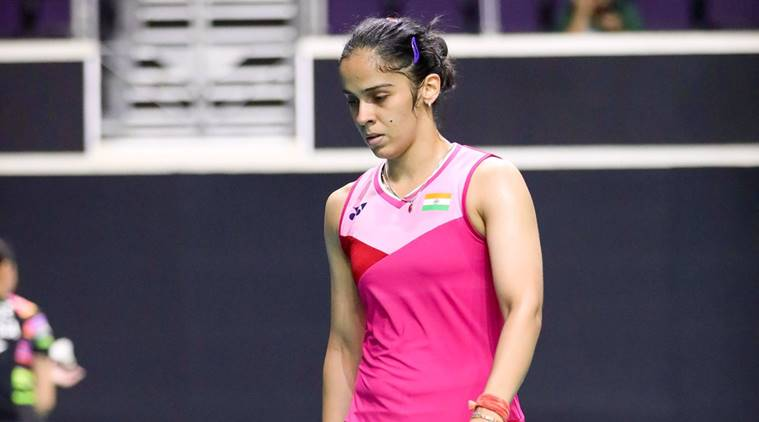 Saina Nehwal at Singapore Open