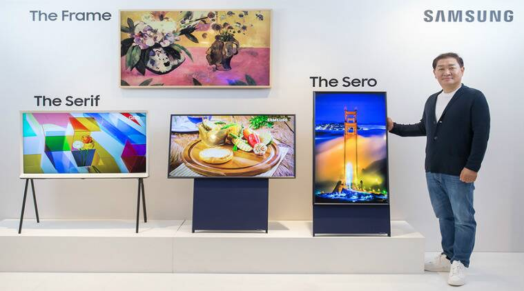 Samsung The Sero, Samsung vertical TV, Samsung Vertical TV price in India, Samsung vertical TV Instagram, Samsung The Sero South Koream Samsung vertical TV features, Samsung The Vertical