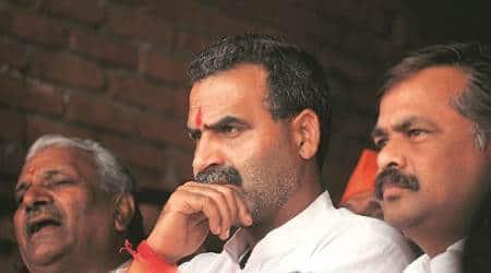 Sanjeev Balyan, Sanjeev Balyan Muzaffarnagar visit, BJP, RLD supporters clash in Muzaffarnagar, UP news, UP police, Indian express